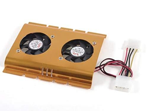 SM-PC® HDD-Kühler 2xLüfter Festplattenkühler Kühlerlüfter #150