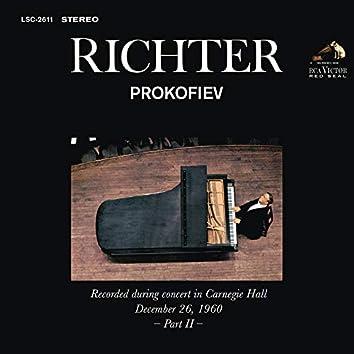 Sviatoslav Richter Plays Prokofiev - Live at Carnegie Hall (December 26, 1960)