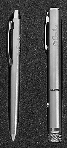 Oculus 2-in-1 Corporate Gift Set Premium Metal Pen and Ultra Powerful Red Laser Pointer Pen Beam Light 5Mw 650Nm Presentation Pointer. CORP-8230