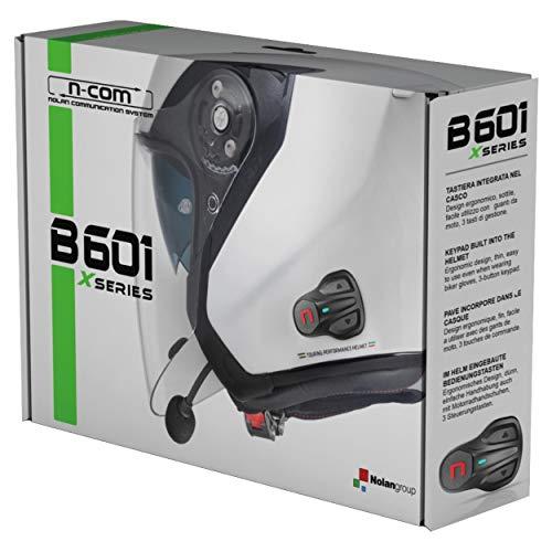 INTERCOMUNICADOR Bluetooth B601-X Sencillo para Cascos NOLAN X-LITE