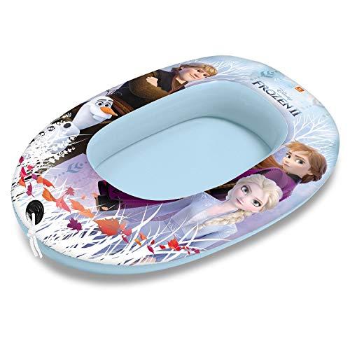 Mondo Toys - Frozen 2 Small Boat - Canotto Gonfiabile / Gommone per Bambini - misura 94 cm - Facile da Gonfiare e Sgonfiare - PVC Termosaldato resistente - ideale per spiaggia, mare, piscina - 16526