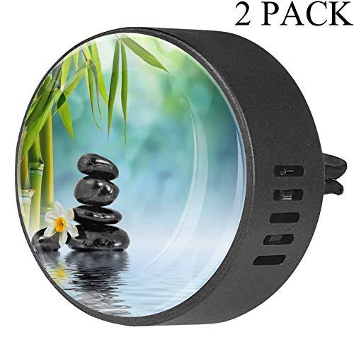 Eslifey Ambientador Coche Zen Stones bambú aromaterapia
