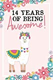 14 Years Of Being Awesome!: happy 14th birthday,14th birthday,birthday gift for 14 year old girl,gifts for 14 year old girls birthday,gift ideas 14 ... year old girls(great alternative to a card)