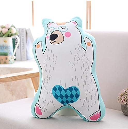 ordenar ahora Ycmjh Cute Cartoon Plush Pillow Animal Bear Anime Anime Anime de Peluche de Juguete Cojín de Regalo 60cm  diseños exclusivos