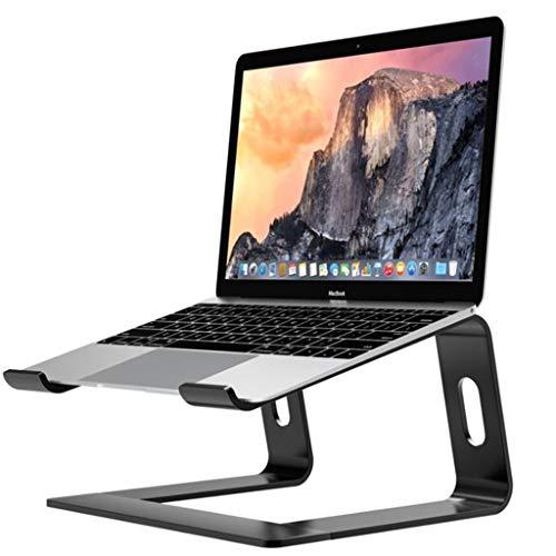 Hetangyuese Laptopstander Demontierbar mit Beluftung Tragbarer Notebook Stander Kompatibel mit Laptop 10 inch17 inch MacBook ProAir HP Dell Lenovo Samsung Acer Huawei MateBook Schwarz