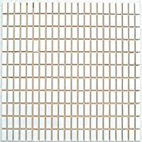 昭和のレトロモザイク 白色 LC-10【アウトレットタイル】