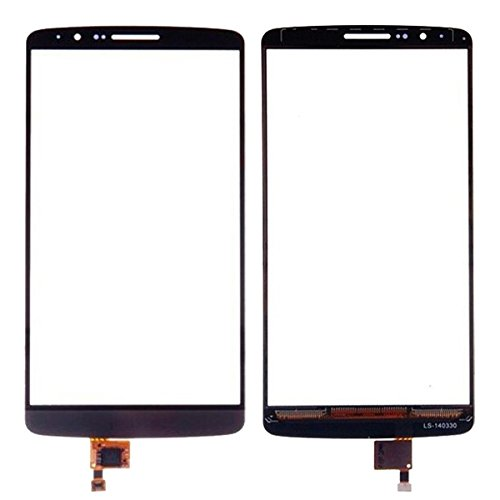 YAOLAN Piezas de Recambio Panel táctil for LG G3 / D850 / D855 Piezas de Recambio para LG (Color : Black)