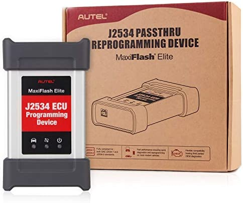 Autel MaxiFlash Elite J2534 Pass Thru ECU Programming Accessory Tool Original for Autel MK908 product image