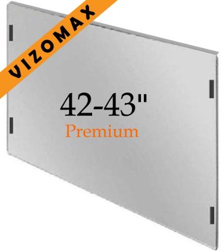 42-43-Zoll-Vizomax TV-Bildschirm-Schutz für LCD, LED und Plasma-HDTV. UV-Schutz, Fernseher-Displayschutz Protector
