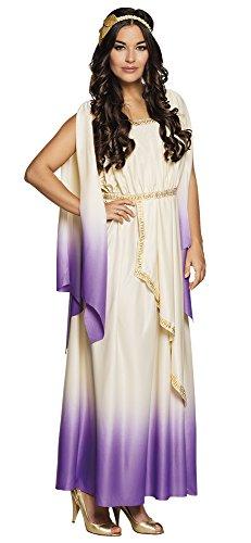 Boland-BOL83691 Selene, Disfraz de la Diosa Griega Del Olimpo para Mujer, multicolor, M (40/42) (Ciao Srl BOL83691)