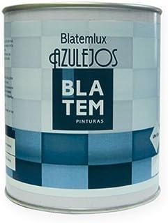 Pintura para azulejos BLATEMLUX 750ml. Color blanco