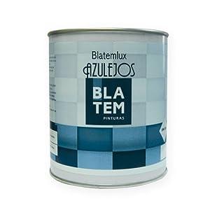 Pintura para azulejos BLATEMLUX 750ml. Color blanco.