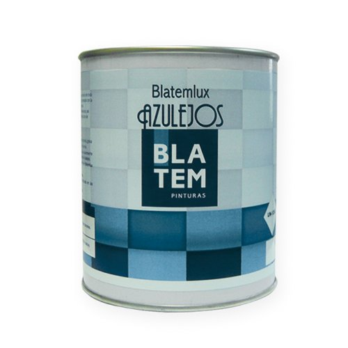 Pintura para azulejos BLATEMLUX 750ml. Color blanco.
