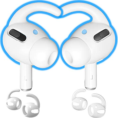 CharJenPro AirFoams Pro Ear Hooks Tips for AirPods Pro. Anti-Slip Silicone Ear tip Covers...