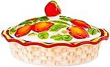 Set di stampi per soufflé Lavabili in lavastoviglie - ciotole per creme brulee in porcellana per cuocere e servire, perfette per muffin, cupcakes o come ciotole da immersione A prova di forno,-B