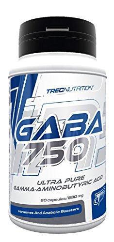 Trec Nutrition Gaba 750 Regeneration Booster Supplement Muskelaufbau Training Bodybuilding 60 Kapseln