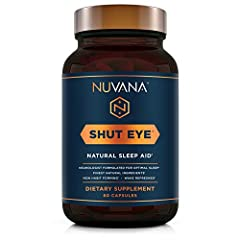 SLEEP BETTER, WAKE UP REVITALIZED - If you're feeling tired and seeking better sleep, then it's time to get some Shut Eye! A natural, maximum strength and non-habit forming herbal sleep aid, Shut Eye is designed to rebalance your overtaxed system for...