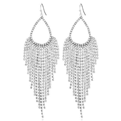 Babysbreath17 Las Mujeres Elegantes Colgantes Diamantes