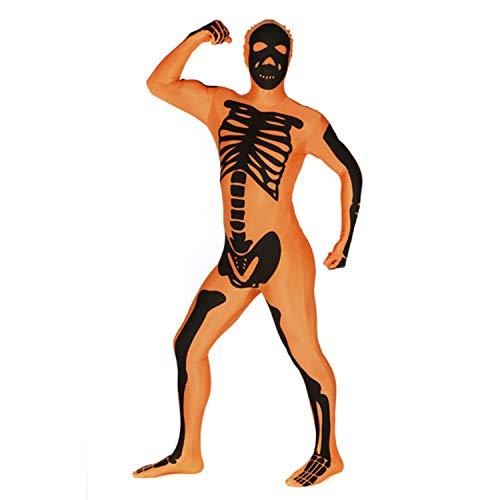 Desconocido Costume morphsuits Scheletro per Adulto
