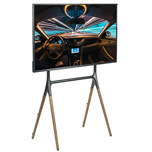 VIVO Artistic Easel 49 to 70 inch LED LCD Screen, Studio TV Display Stand, Adjustable TV Mount with 4 Legs (STAND-TV70A)
