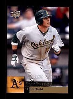 2009 Upper Deck # 798 Ryan Sweeney Oakland Athletics (Baseball Card) Dean's Cards 8 - NM/MT Athletics