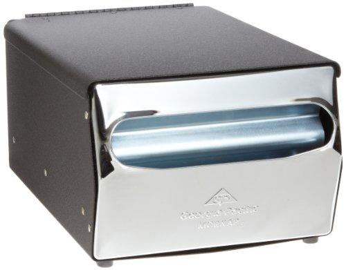 Dixie Countertop Full-Fold Napkin Dispenser by GP PRO (Georgia-Pacific), Chrome, 51202, Holds 225 Napkins, 7.880