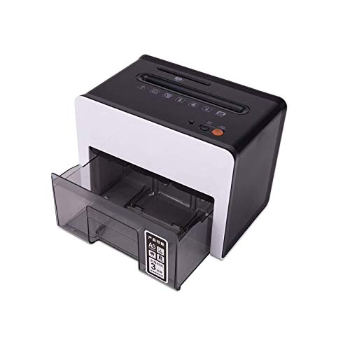 Distruggi Documenti Piccolo VEDKYY Trita Documenti A5 Casa Distruggidocumenti Microframmenti Tritadocumenti Professionale Tritacarte Portatile Shredder Elettrico Trita Carta P-5, 2.5L, 4 Fogli