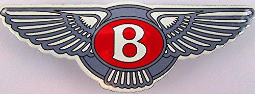 Nouveau Plaque Émaillée Bentley, 5 cm x 15 cm, Classic Publicité enseigne publicitaire ANNÉES 50 Life Style Rétro Fifties