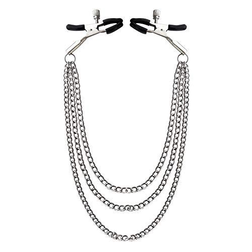 Cadena de cuerpo con clip ajustable Accesorios de ropa de fiesta Decoración
