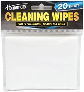 Homemate Electronic Cleaning Wipes - 20 Pack