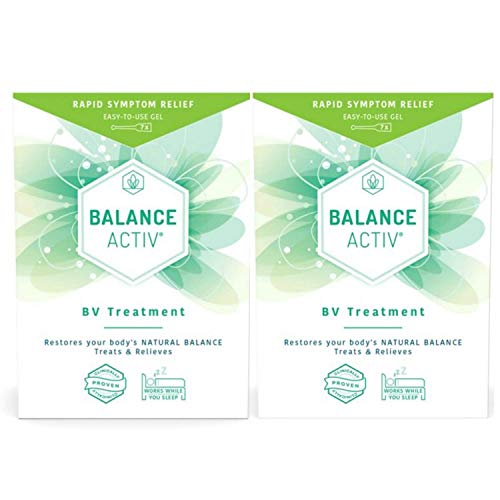 Double Pack -14 Days Balance Activ Bacterial Vaginosis Gel Treatment Gel Kit