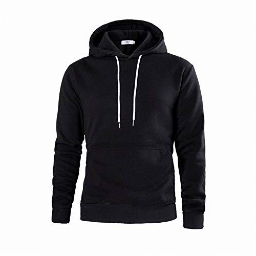 GEZIBABA capuchonpullover, 100% katoen, casual hoodie, normale lak jongendart en wijd dunne trui sweatshirt M