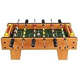 AJH Deluxe Mini Table Top Pool Mesa de fútbol para niños Juego de Mesa de Juego de futbolín Sala de Juegos Interior Mesa de Billar portátil Juego de Pelota de Mesa Juguet