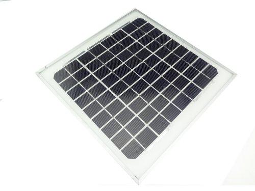 MISOL 10w solar panel for 12V system,monocrystalline, photovoltaic panel, solar module/panneau solaire pour le système 12V, monocristallin, panneau photovoltaïque, module solaire