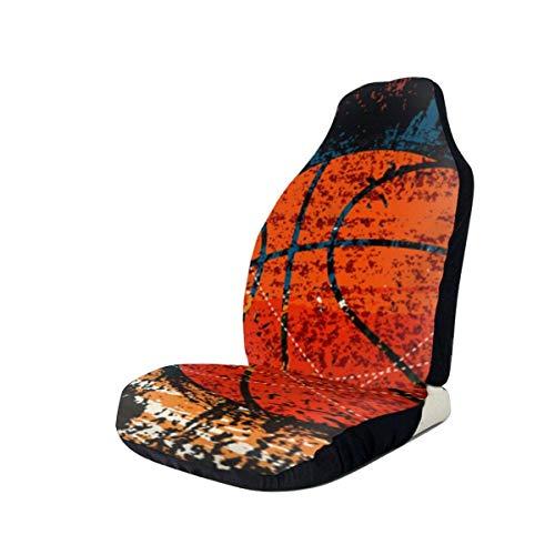 Little Yi Basketball Retro Aquarell Kunst Autositzbezug