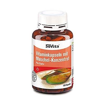 Sovita Active Vitaminkapseln mit Muschelextrakt, 180 St