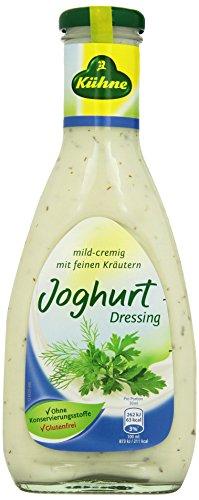 Kühne Joghurt Salat-Dressing in der Flasche, 500 ml
