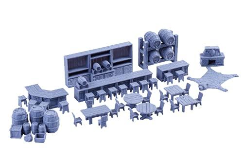 Tavern Furniture Miniatures