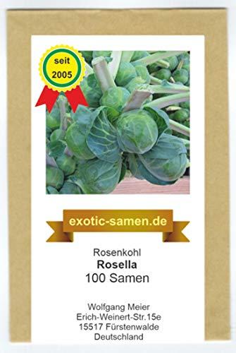 Rosenkohl - Rosella - 100 Samen