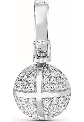 JETTE Silver Damen-Charm 925er Silber 104 Zirkonia One Size 87603334
