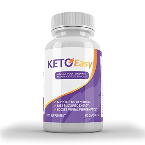 Keto Easy Advanced Weight Loss with METABOLIC KETOSIS Support (60 Capsules)