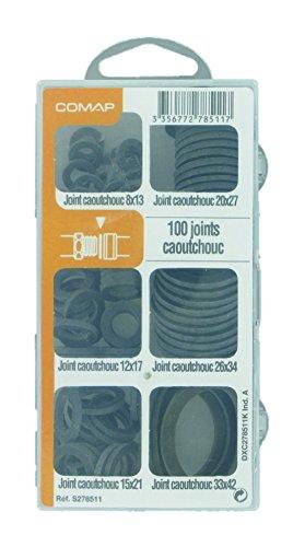 Comap Coffret de 100 joints caoutchouc pour sanitaire