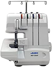 Juki, MO-50E, 3 or 4 Thread Serger, Lay In Tensions, Adjustable Differential Feed, Built In Rolled Hem, Automatic Lower Looper Threader, Retractable Upper Knife (MO-50E/UL)