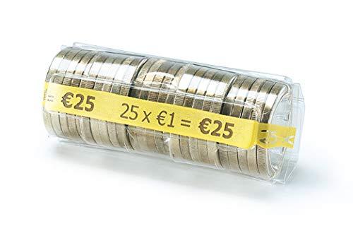 CECONCEPT L100TC100 Münzhüllen, 1,00 Euro, 100 Stück