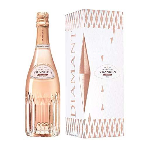 Champagner Vranken - Diamant Rosé - In einer Geschenkbox 1 * 75cl
