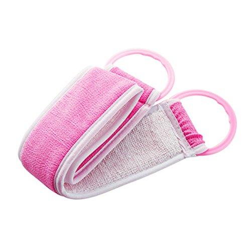 Exfoliant Scrubber Strap Masseur brosse douce éponge de bain exfoliante, D2