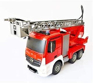 GIGATOYS E527-003 DOUBLE EAGLE 1:20 MERCEDES-BENZ ANTOS FIRE TRUCK