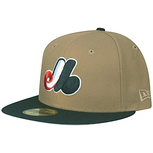 New Era 59Fifty Fitted Cap - Montreal Expos Khaki - 7