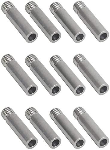 DONGYAO Binchil - 12 unidades de garganta mejorada para filamento de 1,75 mm para Anet ET4 ET4X ET4PRO ET5 ET5PRO 3D piezas de impresora 3D