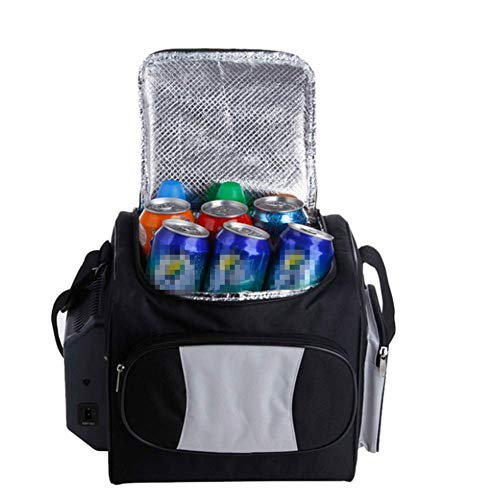 LXYZ Autokühlschränke Tragbarer Gefrierschrank Abkühlen Hohe Kapazität Niedriger Energieverbrauch Picknickgetränk im Freien 12L